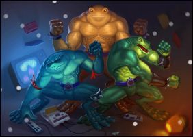 Battletoads by ska-fandr