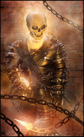 Ghost Rider 3d by MarcMons007