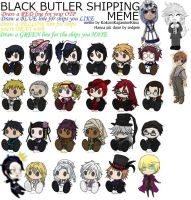 Black Butler Shipping Meme by KokoroKagamineKissu