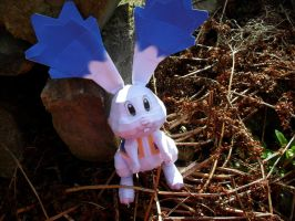 Star Rabbit Papercraft by squeezycheesecake
