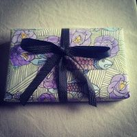 my art is wrapping paper now by AnalieKate