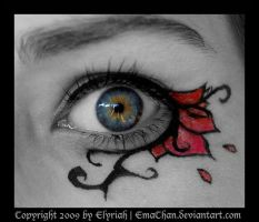 Gothic MakeUp .:11:. by Elyriah