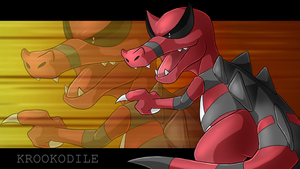 Krookodile wallpaper by Natsuakai