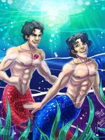 Jaydick Mermen by scribbledit