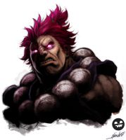 Akuma~AlvinLee~Colour by SmithyTheSmithSmith