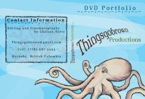 Things Go Octopus DVD Cover by thingsgobrown