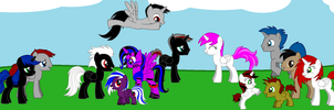 Shadow's Whole Family by Imp344
