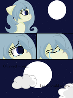 .:Oh, Sweet Moon, I Wish I Could See You...:. DONE by XxThe-Broken-AngelxX