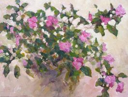 My Old Impatiens, Again by litka