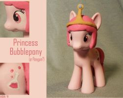 Princess Bubblepony by gargoylekitty
