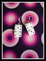 Domino Earrings by a-ninny-mouse