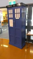 TARDIS Cupboard by maddogdodge