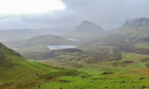 View from the the Quiraings by Siiaann