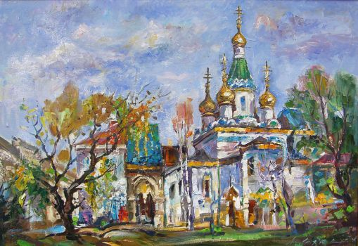 The Russian Church by lubolubo