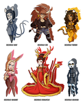 Zodiac Adoptables: set 1 - CLOSED! by MTC-Studio