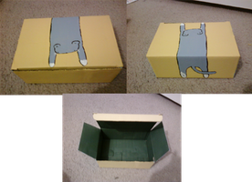 Kitty Kitty Box Box by PaperSquid