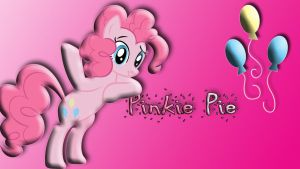 Pinkie Pie Wallpaper by schocky