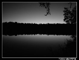Sunset on Sibley Lake by b4refo0tmu5ic