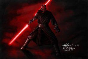 Darth Maul by Torvald2000
