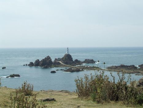 Corbiere Lighthouse by Brit31