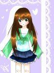 Green blue fashion by Reggieiloveanime