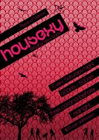 Housexy Poster 3 by musicnation