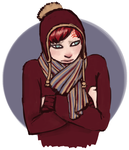 Gaara doesn't like the cold by danicat91