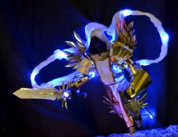 Tyrael Sculpture Close up by Butterfly-Kitsune