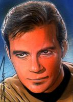 Kirk Sketch Card by RandySiplon