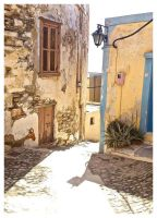Ancient Streets 2 by EmmaSloane