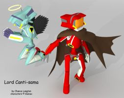 Lord Canti twins by digitalkami