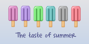 The taste of summer by Rosse-Suffle