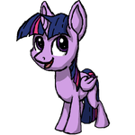 Chibi Twilight Sparkle by Neyonic