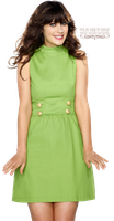 PNG 19- Zooey Deschanel by odds-in-favour
