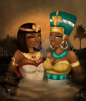 Queens of the Nile. by BabyButta