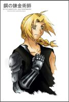 Edward Elric FANART2010 color by guto-strife-1