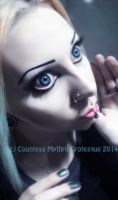 . doll eyes . by Countess-Grotesque
