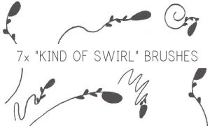 Kind of Swirl Brushes by PinkMai