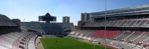 Ohio Stadium Panorama by fusionpanda
