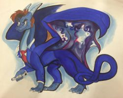 Draconian Who: Fire and Ice and Rage by Alexbee1236