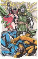 Mailce Dr. Doom by montrosity
