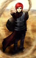 gaara... re.rendered by Myrsk