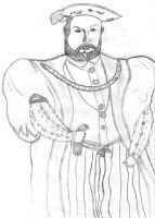 Henry VIII by HannahLouLou