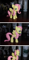 SOLD! Mane and Tail Sculpt Fluttershy V.1 by UniqueTreats