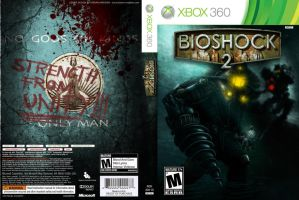 Bioshock 2 Xbox360 Cover by Kmadden2004