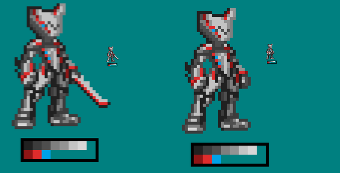Excalibur in MMZX Style by Haiova