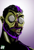 Zombie Self Portrait by geogant