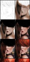 Red - Steps by Italiener