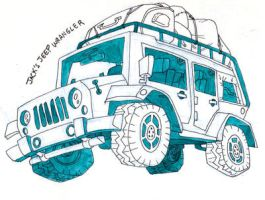 Jeep by FablePaint
