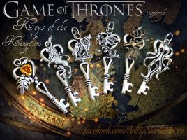 Keys of the Kingdoms Set- for sale NOW :D by ArtByStarlaMoore